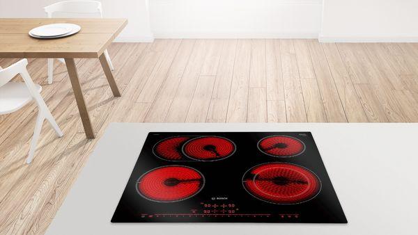 Fabulous Ceranfeld-Heizelement leuchtet nicht komplett rot | Bosch EM39