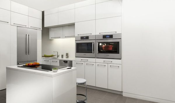 Bosch SideOpening Wall Ovens Side By Side, Creating French Door Appearance