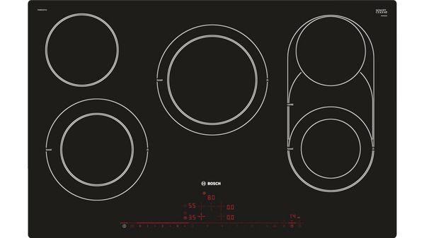 Super Ceranfeld-Heizelement leuchtet nicht komplett rot | Bosch AO65