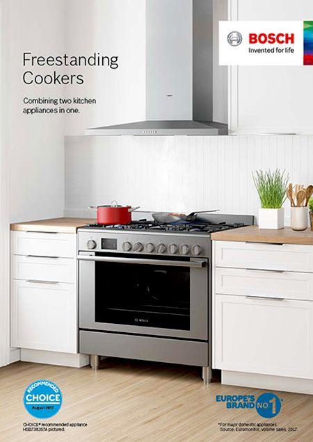 Brochures Bosch Home Appliances