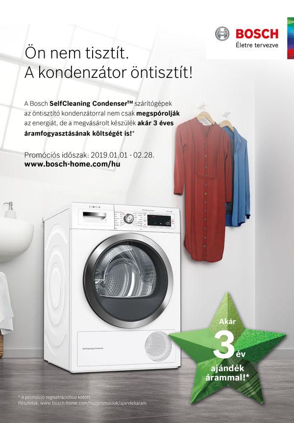 Bosch mosó szárító pénzvissza