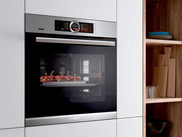 Cooking And Baking With Modern Bosch Home Appliances