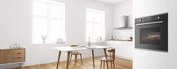 Forni da incasso Bosch: la tecnologia in cucina ci prende gusto.