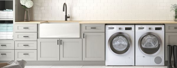 "24"" Stackable Washer & Dryer 