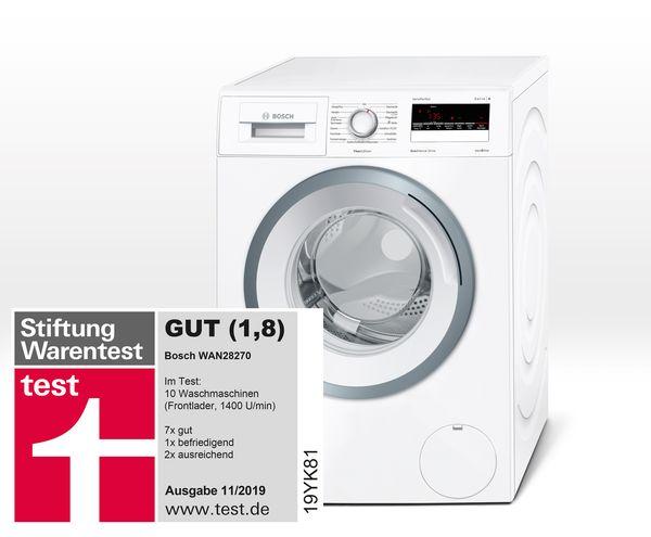 Stiftung Warentest Waschmaschinen 2021 Testsieger