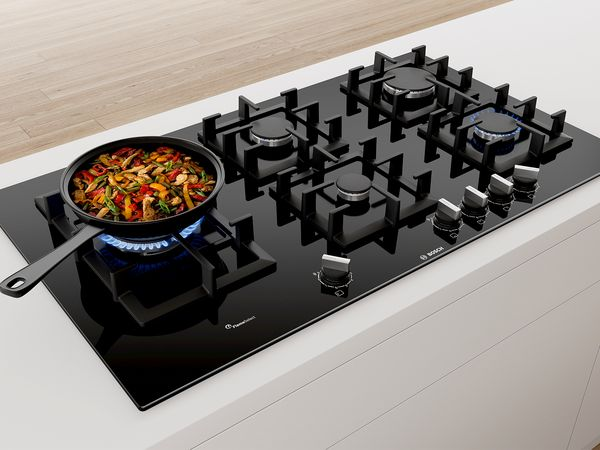 New Bosch gas hobs with FlameSelect