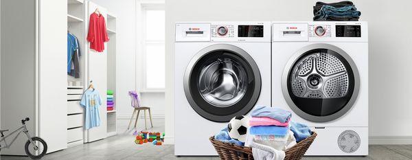 Favorit Große Waschmaschinen für große Familien | Bosch MI06
