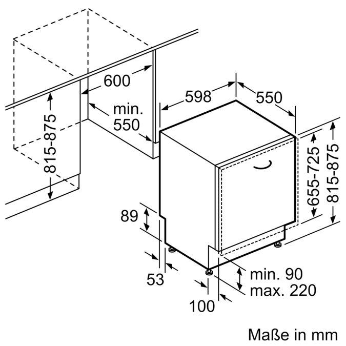 Bosch SMV46KX00E Geschirrspüler