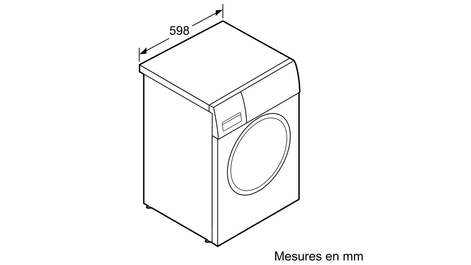 Meuble Lave Linge Seche Linge Colonne serie | 4 sèche-linge - pompe à chaleur