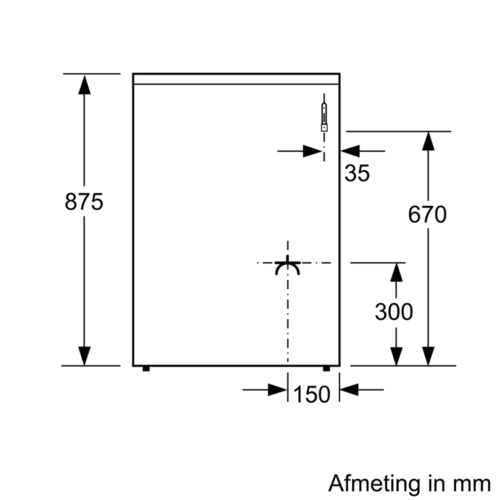 Hxa050d20n wit serie 2 hxa050d20nb bosch for Bosch outlet store