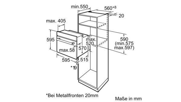 Bevorzugt BOSCH - HBA64B152F - Einbau-Backofen XS05