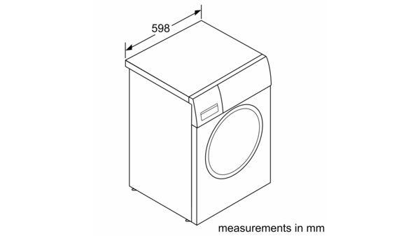 سری |  2 ماشین لباسشویی ، لودر جلو 7 کیلوگرم 1000 دور در دقیقه WAJ20170GC WAJ20170GC-7