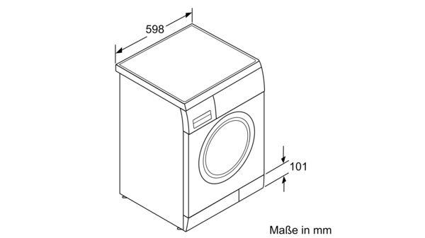 Gut gemocht BOSCH - WAE28220 - Waschmaschine, Frontlader PO03