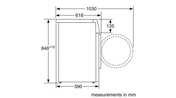 سری |  2 ماشین لباسشویی ، لودر جلو 7 کیلوگرم 1000 دور در دقیقه WAJ20170GC WAJ20170GC-8