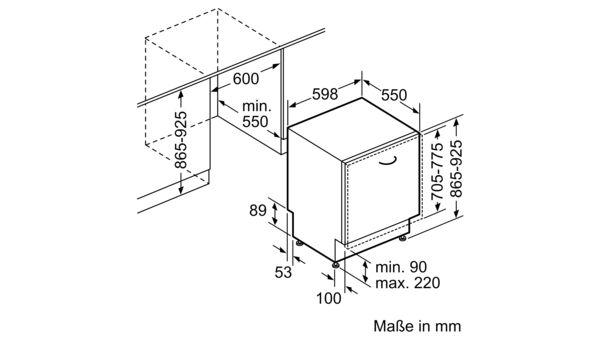 Favorit BOSCH - SBV68MD02E - Vollintegrierter Geschirrspüler QT97