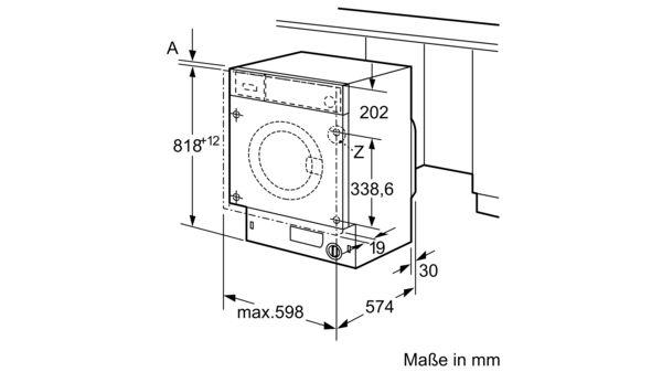 Favorit BOSCH - WIW28440 - Einbau-Waschmaschine OH56