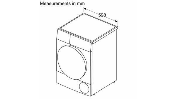 Serie | 4 Condenser Tumble Dryer 8 kg Inox-easyclean WTM8326SZA WTM8326SZA-8
