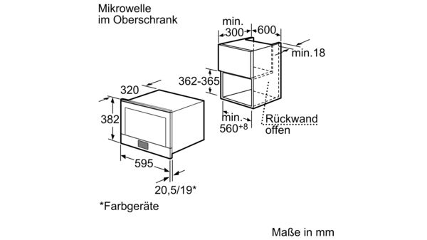 BOSCH HMT85MR53 Mikrowellengerät
