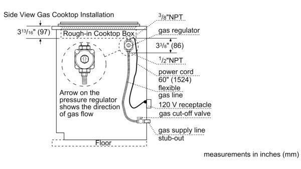 Bosch Ngm5056uc Gas Cooktop