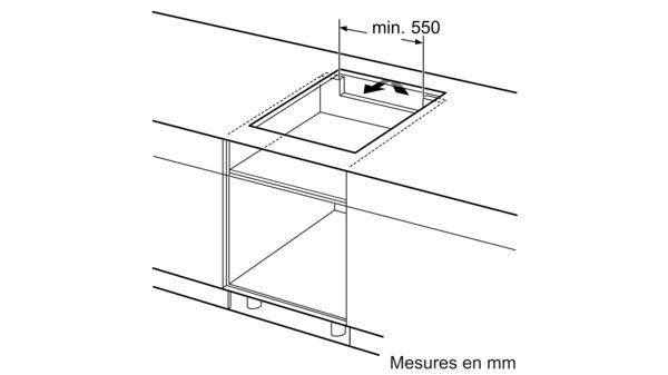 acheter en ligne 68c39 21389 Serie | 6 Table à induction 60 cm Noir PXE631FC1E