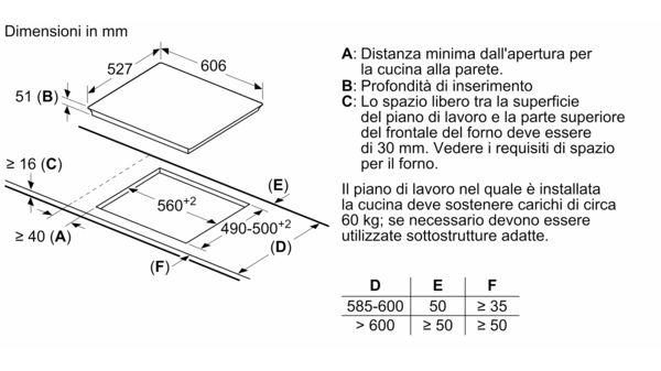 BOSCH - PXE675DC1E - Piano cottura a induzione
