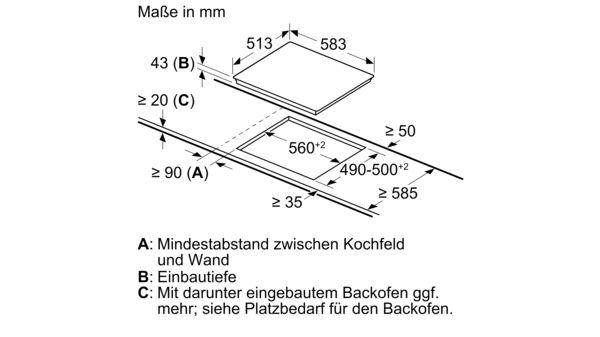 60 Cm Kochfeld Glaskeramik Serie 4 Nkn645g17 Bosch