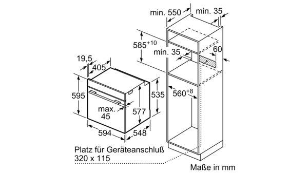 Gut bekannt BOSCH - HRG6769S6 - Einbau-Backofen mit Dampfunterstützung PX43