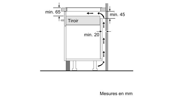 rencontrer ca484 41f6a Serie | 8 Table à induction 80 cm Noir PXY831DE3E