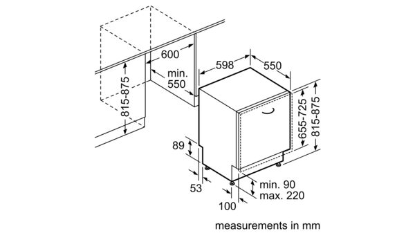 Smv46kx01e Fully Integrated Dishwasher