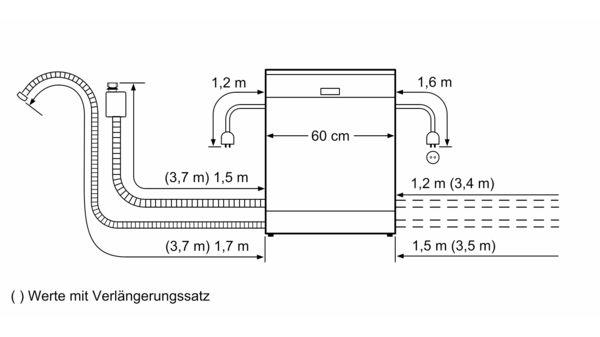 Serie | 8 Freistehender Geschirrspüler 60 cm Silver Inox SMS88UI36E SMS88UI36E-7