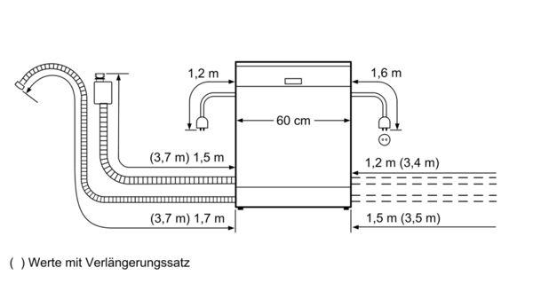 BOSCH - SMS68L08GC - free-standing dishwasher