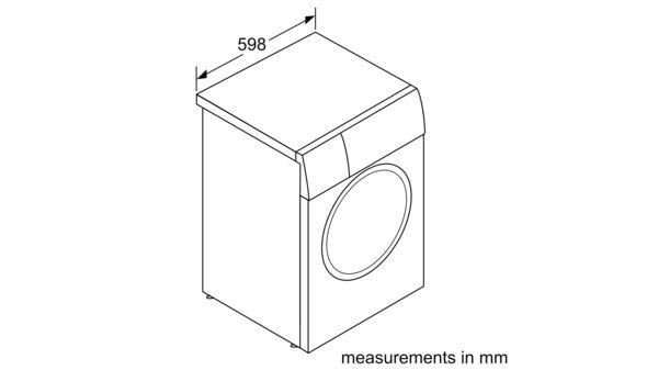 Serie | 6 Washing machine, front loader 10 kg 1400 rpm WAU28440SG WAU28440SG-8