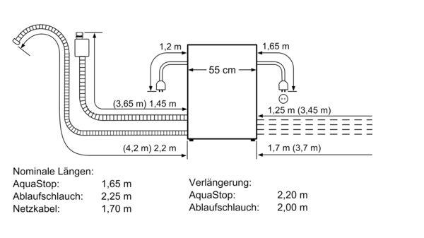 BOSCH SCE64M65EU Einbau Modular Geschirrspüler