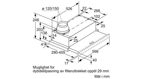BOSCH DFM064A51 VENTILATOR Power.no