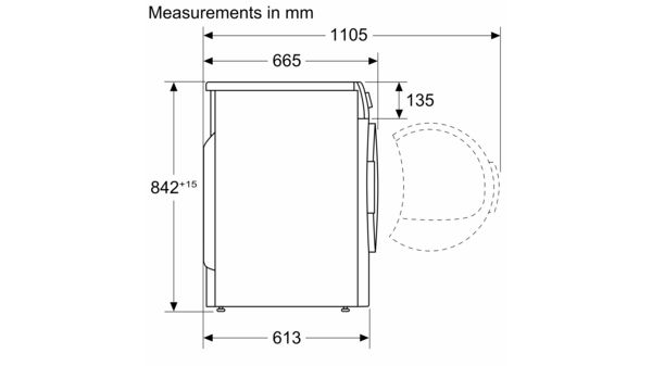 Serie | 4 Condenser tumble dryer 7 kg WTN84200SG WTN84200SG-7