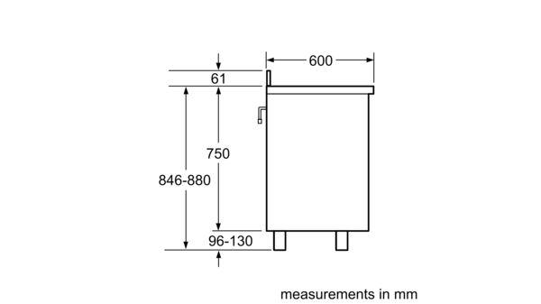 Serie | 2 Gas range cooker 90 cm HSG734357Z HSG734357Z-6