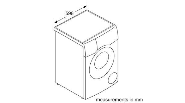 Serie | 6 Washer dryer 10/6 kg 1400 rpm WDU28560GB WDU28560GB-8