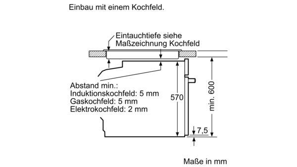Sehr BOSCH - HBA5784S0 - Einbau-Backofen GL36