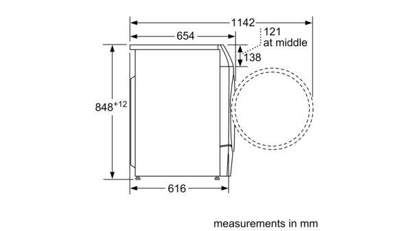 Serie | 6 Washer dryer 10/6 kg 1400 rpm WDU28560GB WDU28560GB-7