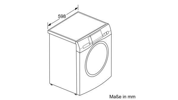 HomeProfessional Waschmaschine Frontlader 9 Kg 1600 U Min WAYH2891 4