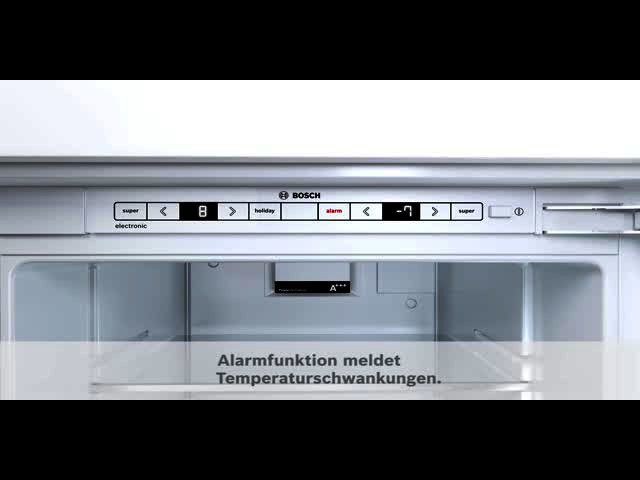 Bosch Kühlschrank Temperatureinstellung : Kühlschrank integrierbar flachscharnier serie kir af