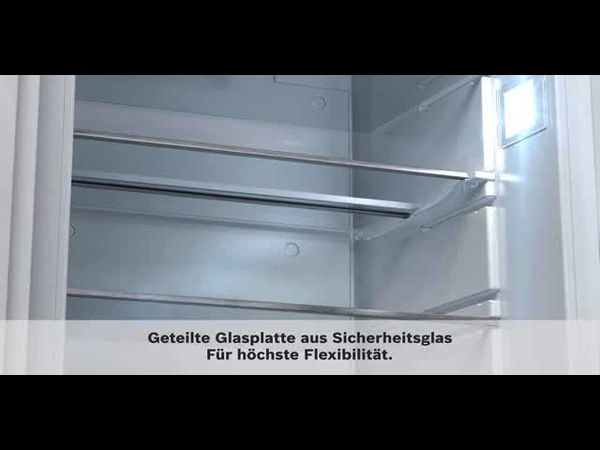 Bosch Kühlschrank Ventilator Reinigen : Einbau kühlschrank flachscharnier serie 6 kir81af30 bosch