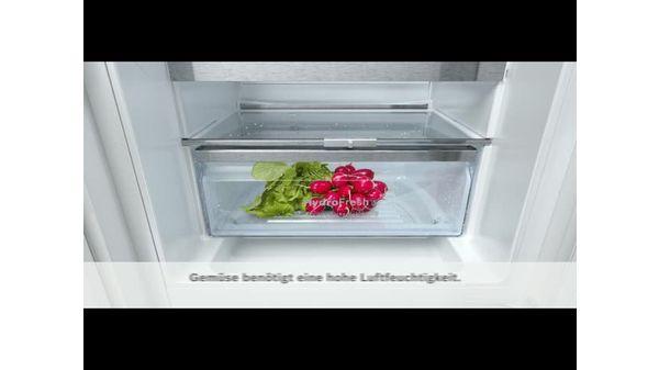 Bosch Kühlschrank Vereist Hinten : Kühlschrank integrierbar flachscharnier serie kir af