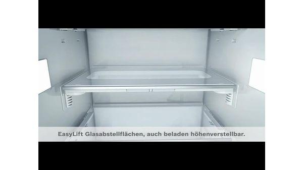 Bosch Kühlschrank Macht Komische Geräusche : Einbau kühlschrank flachscharnier profi türdämpfung