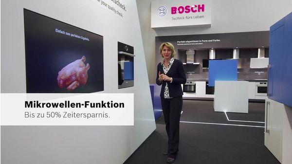 Bosch Serie 8 HNG6764S6 Backofen mit Mikrowelle und