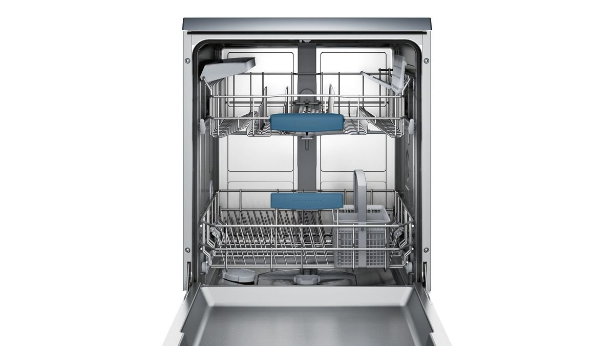 lave vaisselle 60 pl 46db a blanc serie 6 sms54m52eu bosch. Black Bedroom Furniture Sets. Home Design Ideas