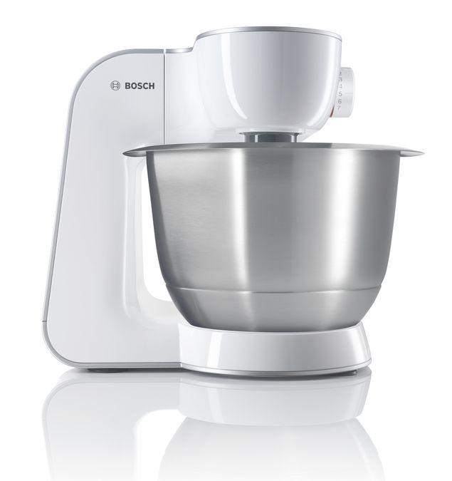 Kuchenmaschine Styline Gehausefarbe Weiss Silber Mum54230 Bosch