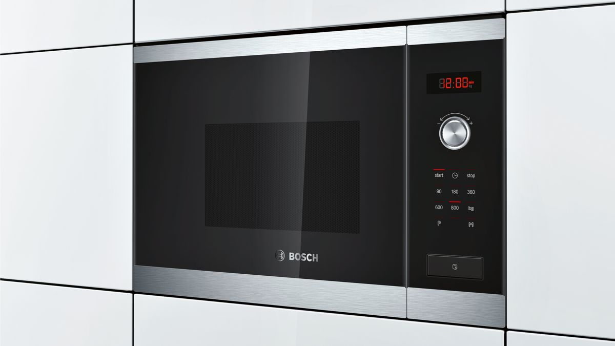 Bosch Hmt75m654b Built In Microwave Oven