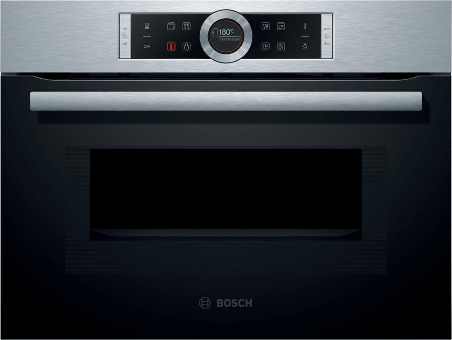 Wonderlijk CMG633BS1B - Compact combination microwave oven - BOSCH ZL-53