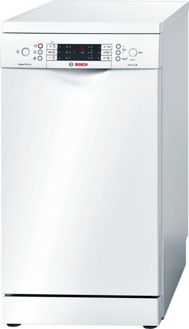 lave vaisselle 45 cm pose libre blanc serie 6 sps69t72eu bosch. Black Bedroom Furniture Sets. Home Design Ideas